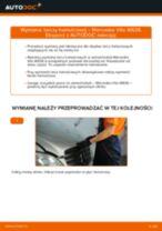Jak wymienić tarcze hamulcowe przód w Mercedes Vito W639 - poradnik naprawy