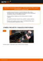Jak vyměnit zadní brzdové kotouče na Ford Mondeo Mk3 sedan – návod k výměně