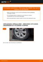 Hoe spiraalveer vooraan vervangen bij een Mercedes Vito W639 – Leidraad voor bij het vervangen