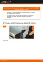Manual online sobre a substituição de Braço transversal longitudinal oblíquo em Citroen Nemo Carrinha