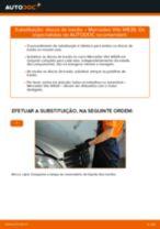 Como mudar e ajustar Discos de freio MERCEDES-BENZ VITO: tutorial pdf