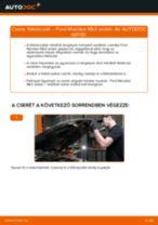 Hátsó féktárcsák-csere Ford Mondeo Mk3 sedan gépkocsin – Útmutató