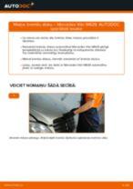 Tiešsaistes rokasgrāmata, kā pašam mainīt Stūres šķērsstiepņa uzgalis uz Audi A3 8p1