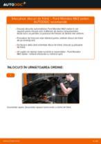 Cum să schimbați: discuri de frână din spate la Ford Mondeo Mk3 sedan | Ghid de înlocuire