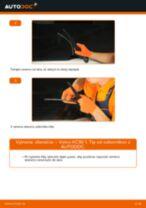 Výmena predné vľavo vpravo Mechanizmus Stieračov Opel Vectra B Kombi: tutorial pdf
