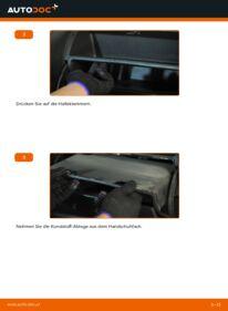 Wie der Austausch bewerkstelligt wird: Innenraumfilter beim HONDA JAZZ