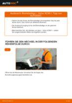 Installation von Verschleißsensor VOLVO XC90 I - Schritt für Schritt Handbuch