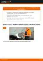 Instructions gratuites en ligne sur comment rénover Batterie de démarrage VOLVO XC90 I