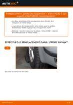 PDF manuel de remplacement: Amortisseur VOLVO XC90 I (275) arrière + avant