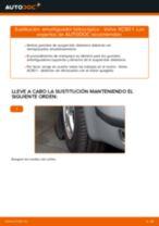 Instrucciones gratuitas en línea sobre cómo renovar Guardapolvos amortiguador & almohadilla de tope suspensión VOLVO XC90 I