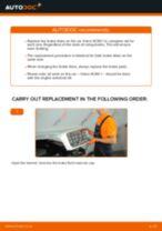 Audi A6 C5 Avant change Bracket, stabilizer mounting : guide pdf