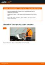 Hur byter man och justera Bromsklossar VOLVO XC90: pdf instruktioner