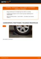 Hvordan bytte og justere Dynamo VOLVO XC90: pdf håndbøker