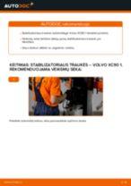 Montavimo Pasukimo trauklė VOLVO XC90 I - žingsnis po žingsnio instrukcijos