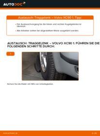 Wie der Wechsel durchführt wird: Traggelenk 2.4 D5 Volvo XC90 1 tauschen