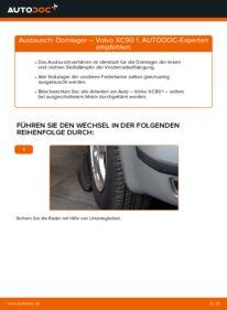 Wie der Wechsel durchführt wird: Domlager 2.4 D5 Volvo XC90 1 tauschen
