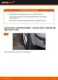 Wie der Wechsel durchführt wird: Koppelstange 2.4 D5 Volvo XC90 1 tauschen