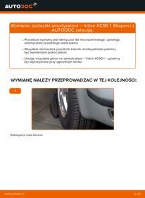Jak przeprowadzić wymianę: Poduszka Amortyzatora w VOLVO XC90