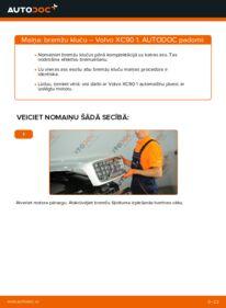 Kā veikt nomaiņu: VOLVO XC90 Bremžu Kluči
