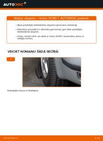 Kā veikt nomaiņu: VOLVO XC90 Piekare