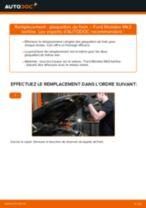 Montage Filtre climatisation FORD MONDEO III Saloon (B4Y) - tutoriel pas à pas