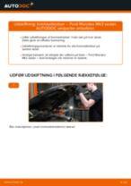 Udskift bremseklodser bag - Ford Mondeo Mk3 sedan | Brugeranvisning