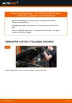 Byta bromsbelägg bak på Ford Mondeo Mk3 sedan – utbytesguide
