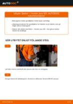 PDF guide för byta: Spiralfjäder HONDA Jazz II Hatchback (GD_, GE3, GE2) bak och fram