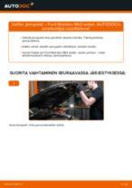 Kuinka vaihtaa jarrupalat taakse Ford Mondeo Mk3 sedan-autoon – vaihto-ohje