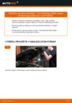Jak vyměnit zadní brzdové destičky na Ford Mondeo Mk3 sedan – návod k výměně
