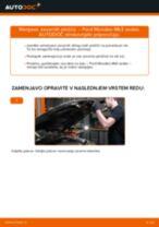 Zamenjavo Zavorne Ploščice FORD MONDEO: brezplačen pdf