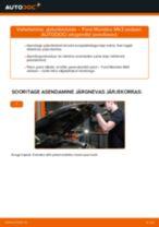 Automehaaniku soovitused, selleks et vahetada välja FORD Ford Mondeo bwy 2.0 TDCi Amort