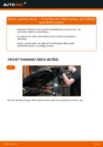 Tiešsaistes bezmaksas instrukcijas kā atjaunināt Bremžu uzlikas FORD MONDEO III Saloon (B4Y)