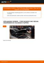 PDF handleiding voor vervanging: Ontstekingsspoel FORD MONDEO III Saloon (B4Y)