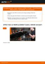 PDF manuel de remplacement: Filtre à huile FORD MONDEO III A trois volumes (B4Y)