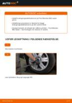 Udskift stabilisatorstang bag - Ford Mondeo Mk3 sedan | Brugeranvisning