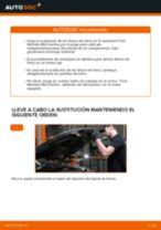 Cómo cambiar: discos de freno de la parte delantera - Ford Mondeo Mk3 berlina | Guía de sustitución