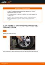 Cómo cambiar: bieletas de suspensión de la parte trasera - Ford Mondeo Mk3 berlina | Guía de sustitución