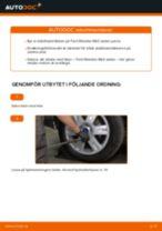 Byta stabilisatorstag bak på Ford Mondeo Mk3 sedan – utbytesguide