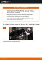 Kuinka vaihtaa jarrulevyt eteen Ford Mondeo Mk3 sedan-autoon – vaihto-ohje