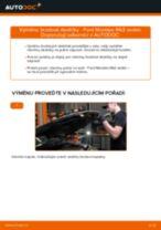 Jak vyměnit přední brzdové destičky na Ford Mondeo Mk3 sedan – návod k výměně