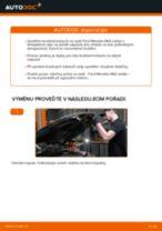 Jak vyměnit přední brzdové kotouče na Ford Mondeo Mk3 sedan – návod k výměně