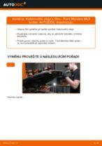 Jak vyměnit motorový olej a olejový filtr na Ford Mondeo Mk3 sedan – návod k výměně