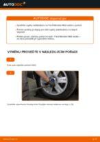 Jak vyměnit zadní tyčky stabilizátora na Ford Mondeo Mk3 sedan – návod k výměně