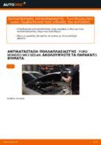 Αλλαγή Καπό FORD MONDEO: εγχειριδιο χρησης