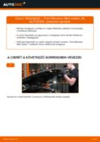 Cseréljünk Fékbetét FORD MONDEO: felhasználói kézikönyv