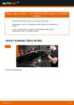Kad mainīt Eļļas filtrs FORD MONDEO III Saloon (B4Y): pdf rokasgrāmata