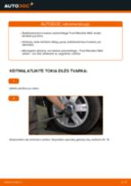 Automechanikų rekomendacijos FORD Ford Mondeo bwy 2.0 TDCi Stabdžių Kaladėlės keitimui