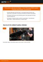 Schimbare Placute Frana FORD MONDEO: manual de intretinere si reparatii