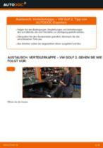 Anleitung: VW Golf 2 Verteilerkappe wechseln